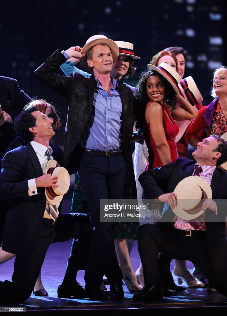 <a gi-track='captionPersonalityLinkClicked' href=/galleries/search?phrase=Neil+Patrick+Harris&family=editorial&specificpeople=210509 ng-click='$event.stopPropagation()'>Neil Patrick Harris</a> performs a song from 'Company' on stage during the 65th Annual Tony Awards at the Beacon Theatre on June 12, 2011 in New York City.
