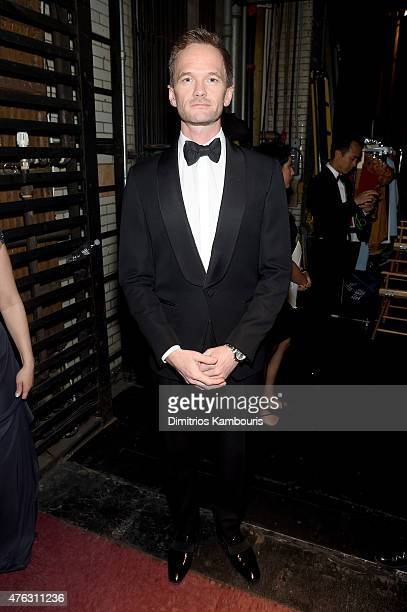 Neil Patrick Harris poses backstage at the 2015 Tony Awards at Radio City Music Hall on June 7 2015 in New York City