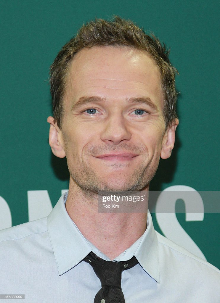 <a gi-track='captionPersonalityLinkClicked' href=/galleries/search?phrase=Neil+Patrick+Harris&family=editorial&specificpeople=210509 ng-click='$event.stopPropagation()'>Neil Patrick Harris</a> promotes his new book, 'Choose Your Own Autobiography' at Barnes & Noble Union Square on October 14, 2014 in New York City.