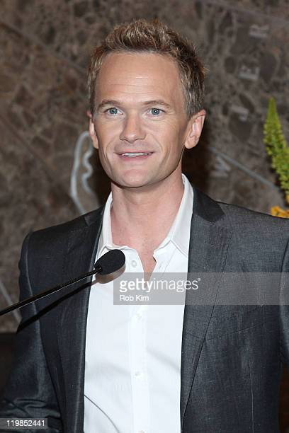 Neil Patrick Harris visits the The Empire State Building on July 25 2011 in New York City