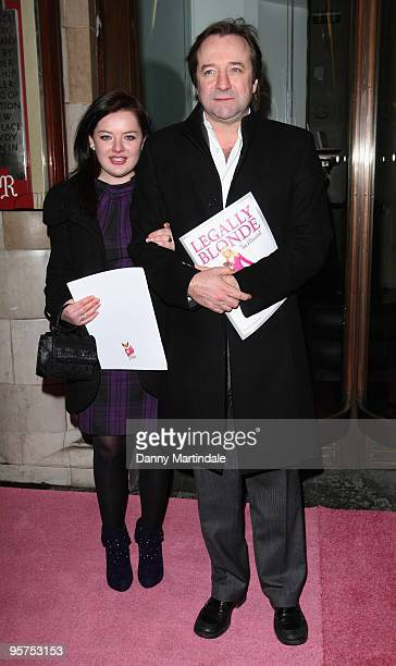 Neil Pearson and guest attend the Gala Performance of Legally Blonde at The Savoy Theatre on January 13 2010 in London England