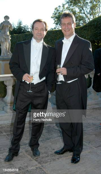 Neil Pearson and Stephen Tompkinson during The 6th Annual White Tie Tiara Ball to Benefit the Elton John Aids Foundation in association with Chopard...