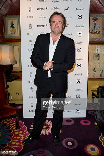 Neil Pearson arrives at Annabel's for the after party of the Old Vic's Clarence Darrow Final Night Gala on June 15 2014 in London England