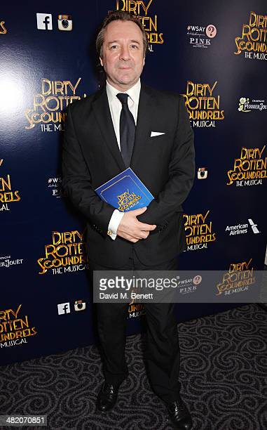 Neil Pearson attends an after party following the press night performance of 'Dirty Rotten Scoundrels' at The Savoy Hotel on April 2 2014 in London...