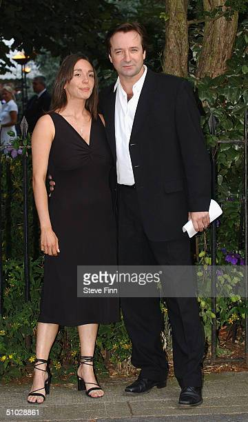Neil Pearson attends David Frost's Summer Party at Carlisle Square on July 6 2004 in London