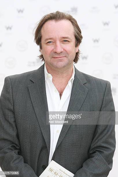 Neil Pearson attends summer fundraising party for The Old Vic Theatre at Battersea Power station on July 1 2010 in London England