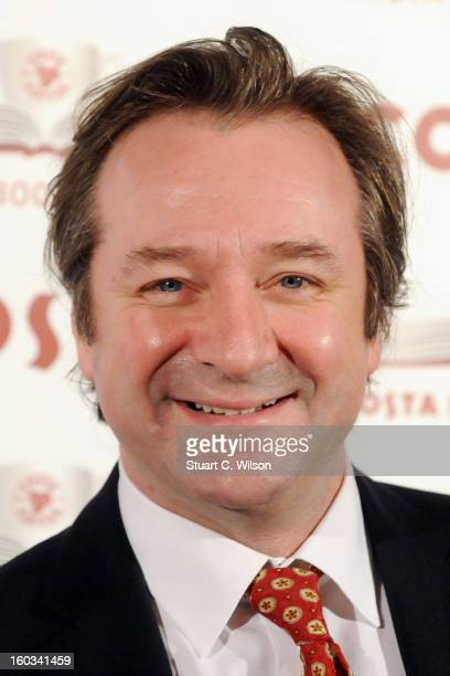 Neil Pearson attends the Costa Book of the Year awards at Quaglinos on January 29 2013 in London England
