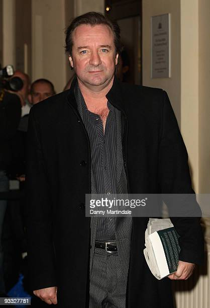 Neil Pearson attends the London Evening Standard Theatre Awards at The Royal Opera House on November 23 2009 in London England