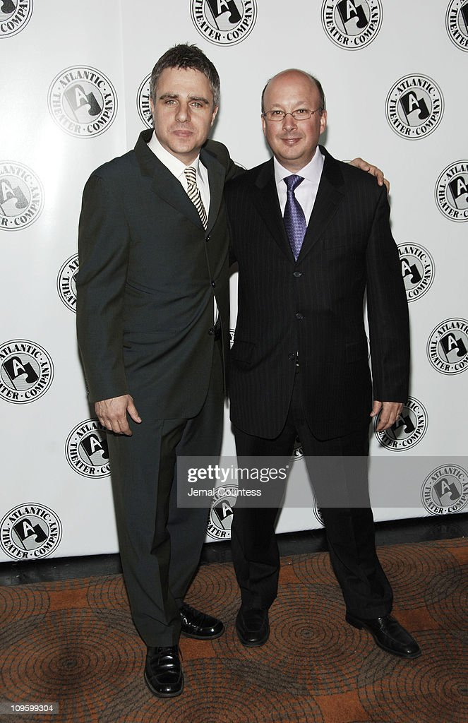 Neil Pepe, Artistic Director of the Atlantic Theater Company and Andrew Hamingson, Managing Director of the Atlantic Theater Company