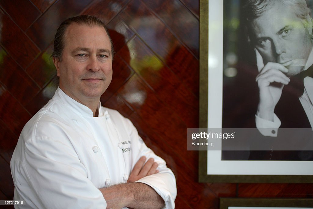 Neil Perry, chef and owner of Rockpool Bar and Grill, poses for a photograph in his new restaurant Rosetta at the Crown Casino and Entertainment Complex in Melbourne, Australia, on Wednesday, Nov. 28, 2012. The Australian Bureau of Statistics is expected to release November inflation data on Dec. 3. Photographer: Carla Gottgens/Bloomberg via Getty Images