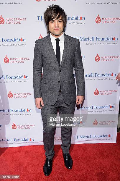 Neil Perry of The Band Perry attends the TJ Martell Foundation's 39th Annual New York Honors Gala at Cipriani 42nd Street on October 21 2014 in New...