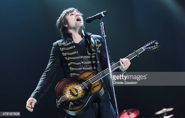 Neil Perry of The Band Perry performs on stage on Day 2 of the C2C Music Festival at O2 Arena on March 16 2014 in London United Kingdom