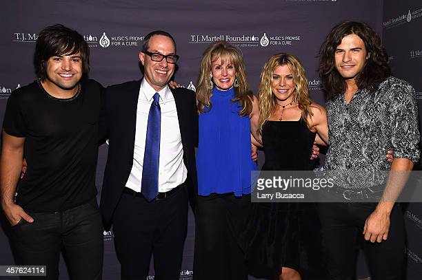 Neil Perry President and CEO Red Light Management and ATO Records Will Botwin TJ Martell Foundation CEO Laura Heatherly Kimberly Perry and Reid Perry...