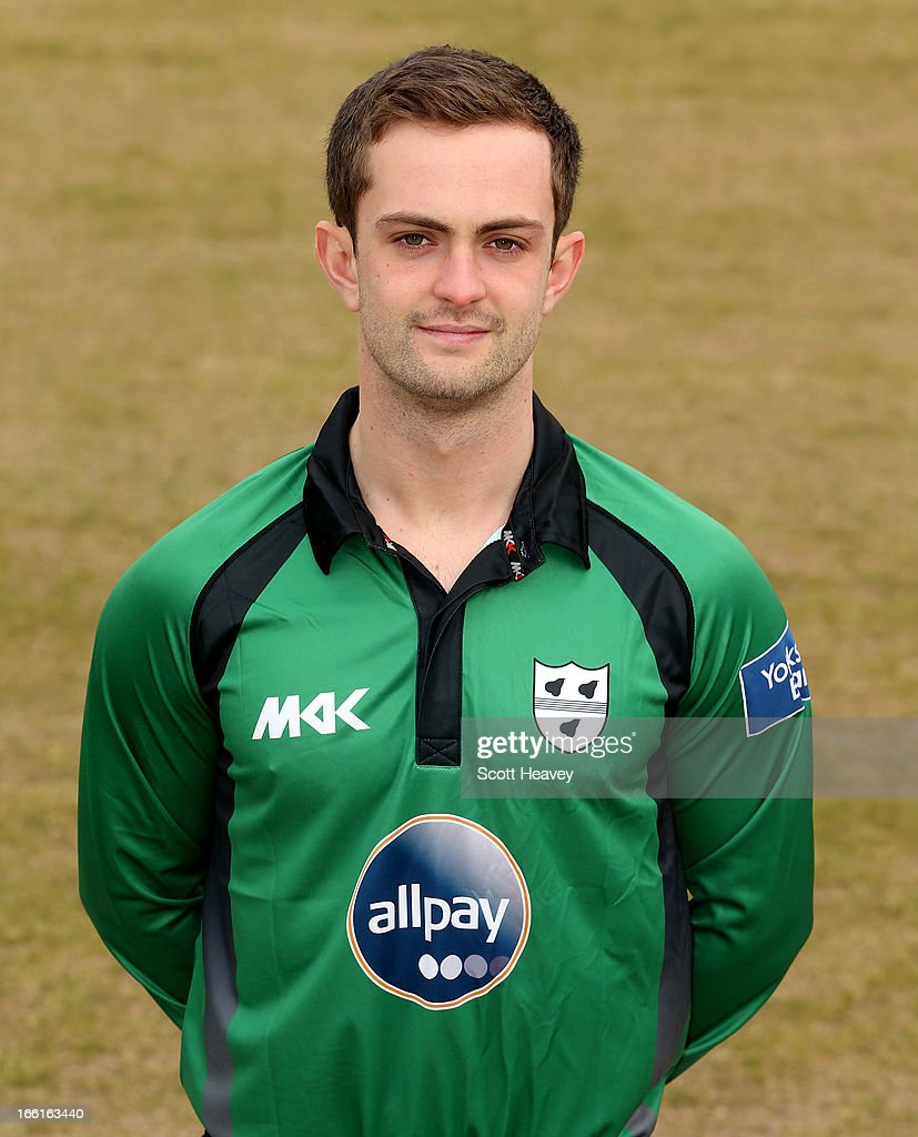Neil Pinner during a Photocall for Worcestershire County Cricket Club on April 9, 2013 in Worcester, England.
