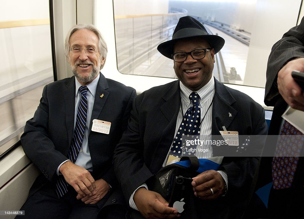 Neil Portnow and Jimmy Jam attend GRAMMYs on the Hill Advocacy Day at Capitol Hill on April 26 2012 in Washington DC