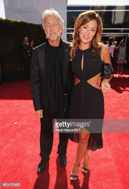 Neil Portnow President/CEO of The Recording Academy and guest attend the BET AWARDS '14 at Nokia Theatre LA LIVE on June 29 2014 in Los Angeles...