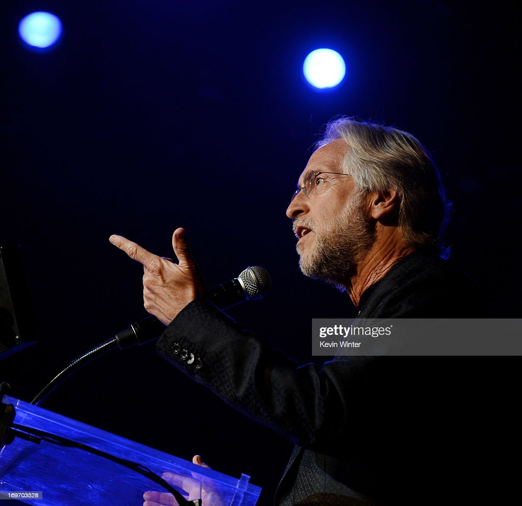 <a gi-track='captionPersonalityLinkClicked' href=/galleries/search?phrase=Neil+Portnow&family=editorial&specificpeople=208909 ng-click='$event.stopPropagation()'>Neil Portnow</a>, President/CEO of The Recording Academy speaks onstage at the 9th Annual MusiCares MAP Fund Benefit Concert at Club Nokia on May 30, 2013 in Los Angeles, California.