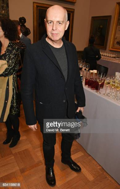 Neil Tennant attends a private view of the David Hockney retrospective at the Tate Britain on February 7 2017 in London England