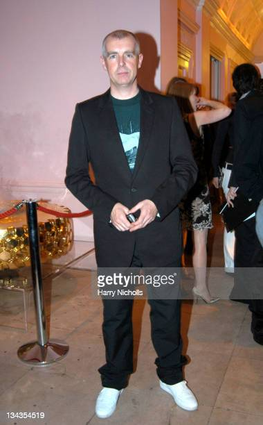 Neil Tennant during Frieze Art Fair After Party Inside at Sketch Conduit Street in London Great Britain