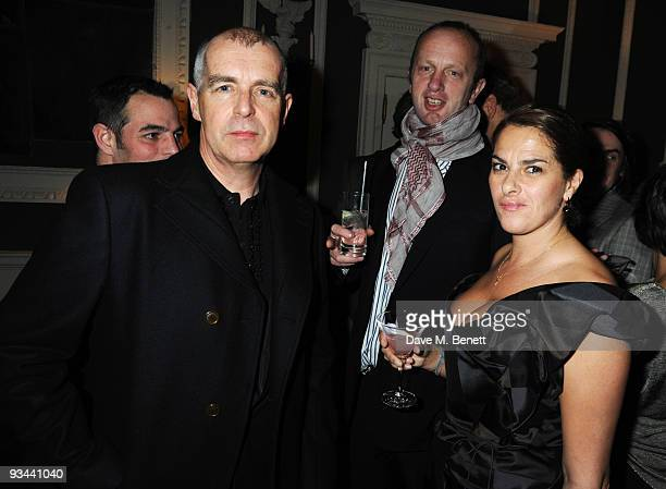 Neil Tennant Johnny Shand Kidd and Tracey Emin attend the afterparty following the premiere of 'Nowhere Boy' hosted by Quintessentially at the House...