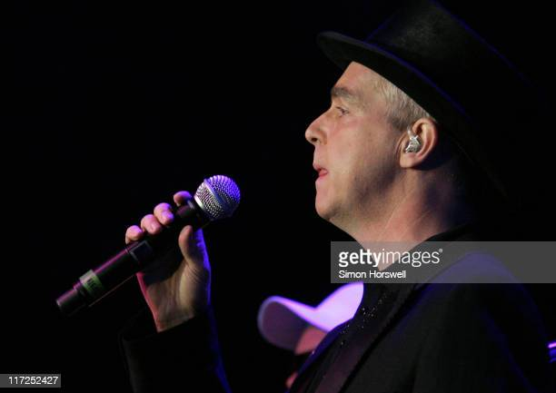 Neil Tennant of The Pet Shop Boys during HM Tower Of London Festival Of Music Pet Shop Boys Concert at HM Tower of London in London Great Britain