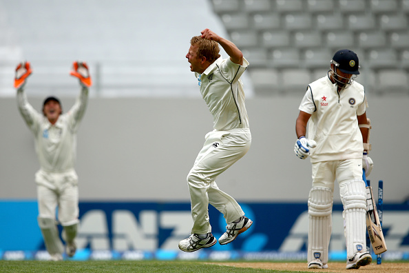New Zealand v India - First Test: Day 2 : News Photo