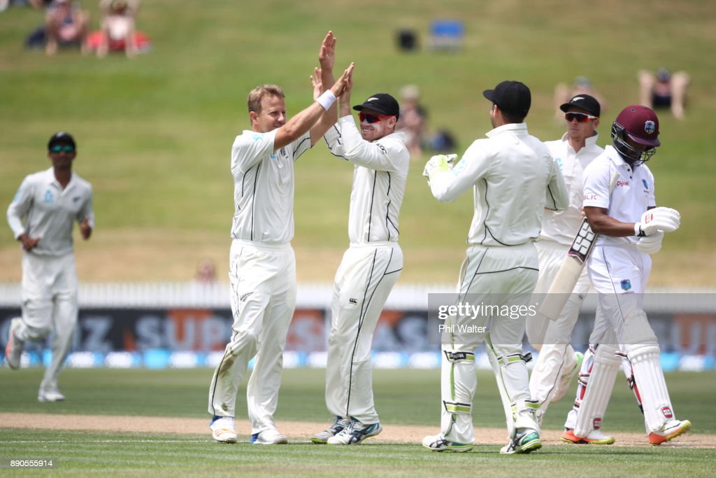 New Zealand v West Indies - 2nd Test: Day 4