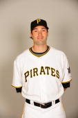 Neil Walker of the Pittsburgh Pirates poses during Photo Day on Sunday February 22 2009 at McKechnie Park in Bradenton Florida