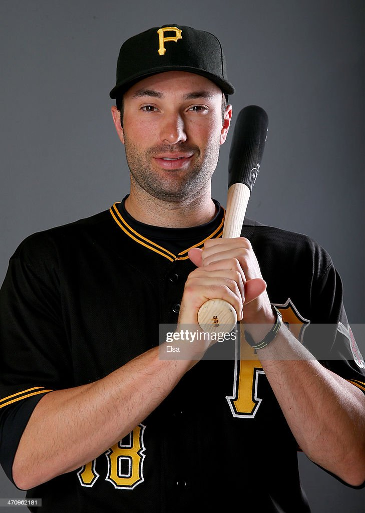 Neil Walker #18 of the Pittsburgh Pirates poses for a portrait during the Pittsburgh Pirates Photo day on February 21, 2014 at Pirate City in Bradenton, Florida.