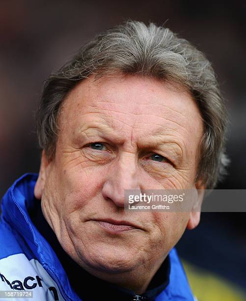 Neil Warnock of Leeds United looks on during the npower Championship match between Nottingham Forest and Leeds United at City Ground on December 26...
