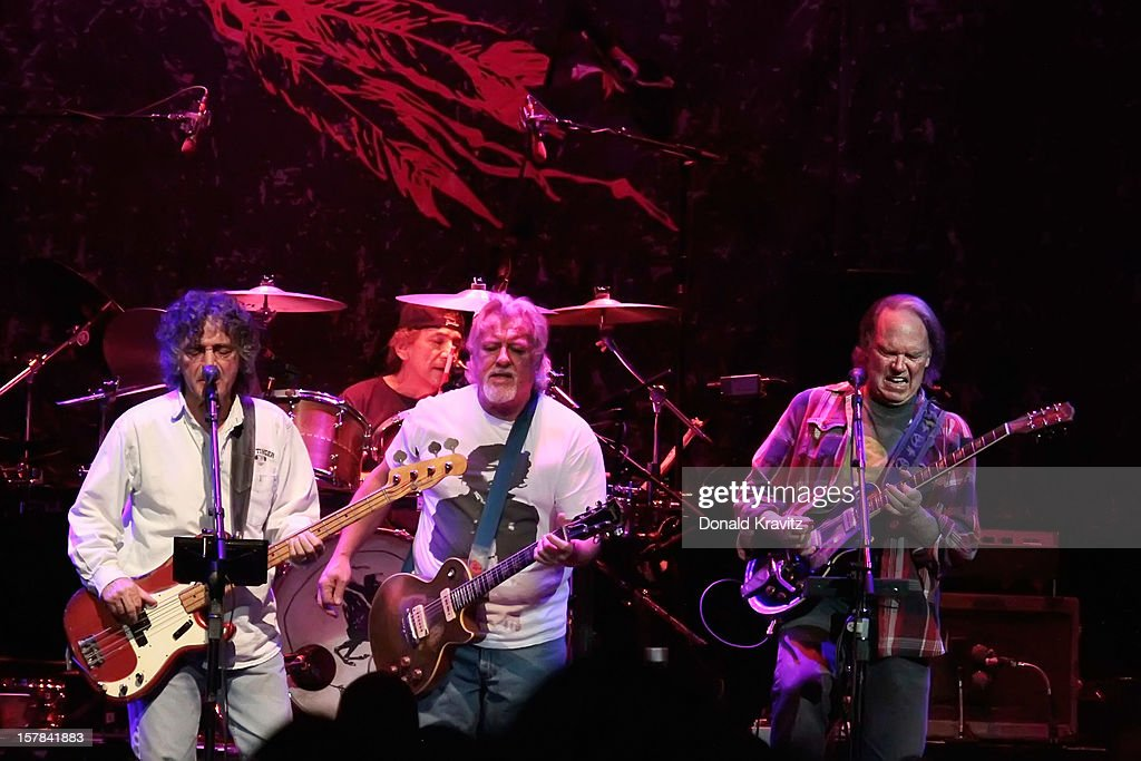 Neil Young & Crazy Horse performs at Borgata Hotel Casino & Spa on December 6, 2012 in Atlantic City, New Jersey.