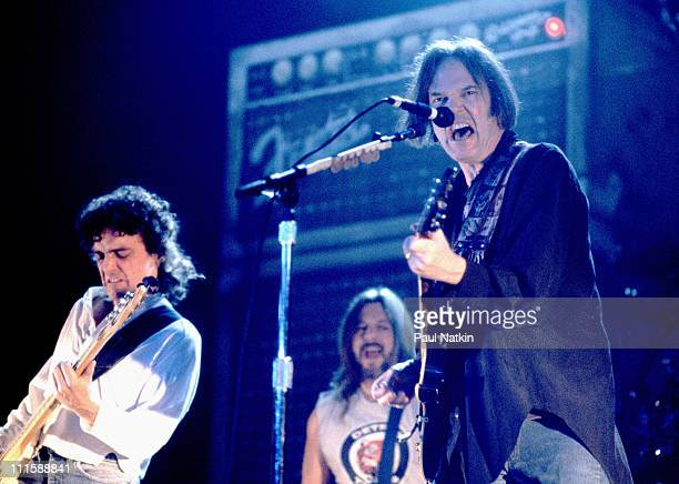 Neil Young during Neil Young in Concert October 3 1995 in Chicago Illinois United States