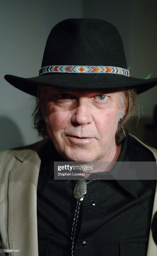 Neil Young during New York Special Screening of ' Neil Young : Heart ...
