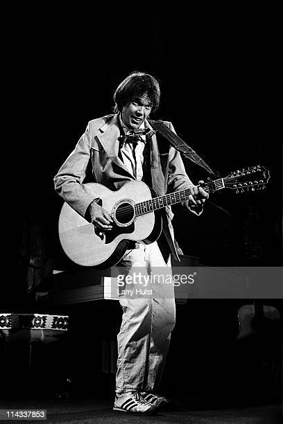 Neil Young performs at Boarding House in San Francisco California on May 24 1978