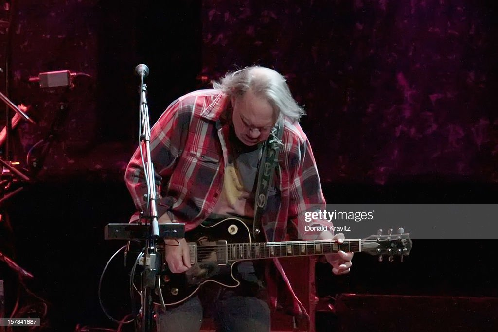 Neil Young performs at Borgata Hotel Casino & Spa on December 6, 2012 in Atlantic City, New Jersey.