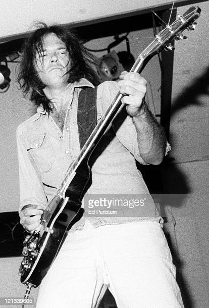 Neil Young performs with The Ducks at the Catalyst in Santa Cruz California July 31 1977