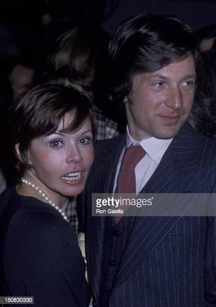 Neile Adams and Michael Brandon at the party for 'Look Magazine' on February 14 1979 at Jimmy's Restaurant in Beverly Hills California