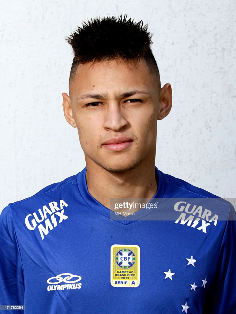 Neilton of Cruzeiro Esporte Clube poses during a portrait session on August 14 2014 in Belo HorizonteBrazil