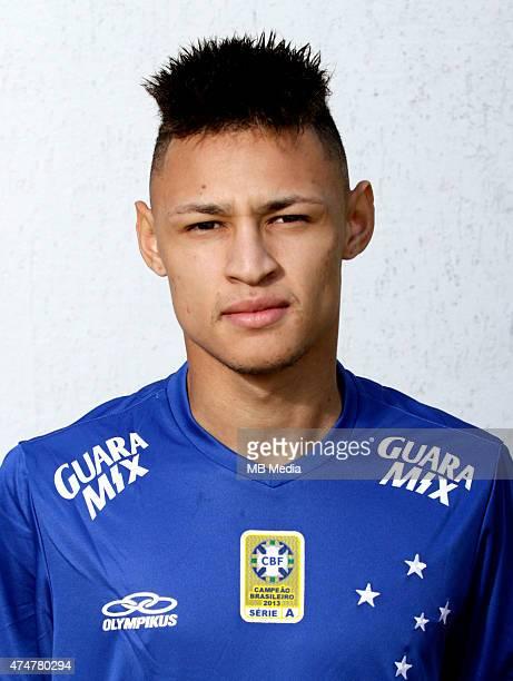 Neilton of Cruzeiro Esporte Clube poses during a portrait session on August 14 2014 in Belo HorizonteBrazil