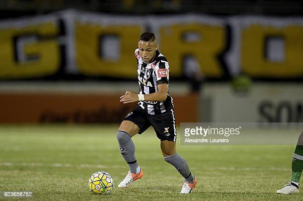 Neilton of Botafogo in action during the match between Botafogo and Chapecoense as part of Brasileirao Series A 2016 at Luso Brasileiro stadium on...