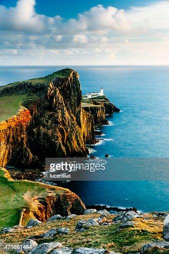 ネイスト岬灯台、スカイ(スコットランド)