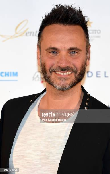 Nek attends the Gentleman Prize on May 22 2017 in Milan Italy