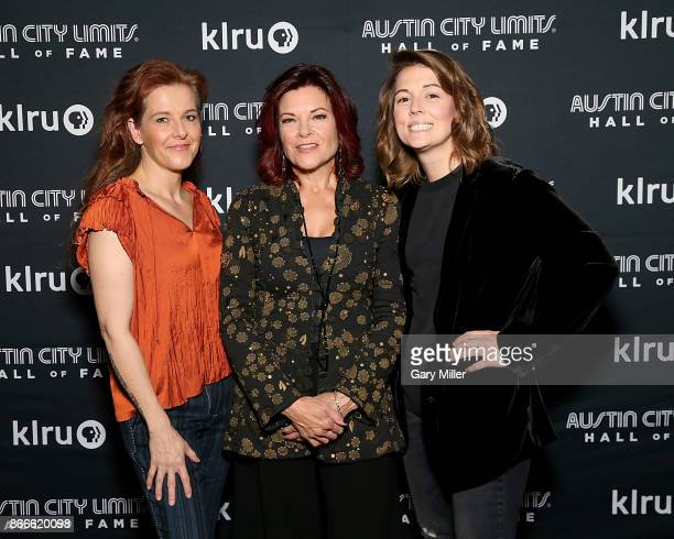 Neko Case Rosanne Cash and Brandi Carlile attend the Austin City Limits 2017 Hall of Fame Inductions at ACL Live on October 25 2017 in Austin Texas