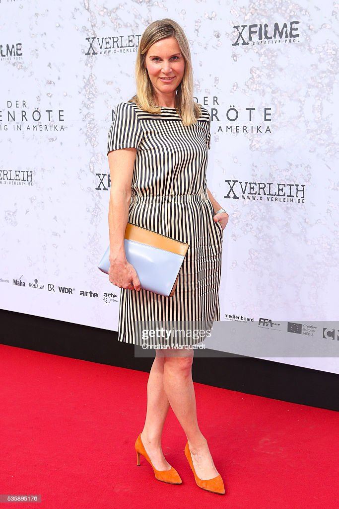 Nele Mueller-Stoefen attends the movie premiere of 'Vor der Morgenroete - Before Dawn' at Delphi Palace on May 30, 2016 in Berlin, Germany.