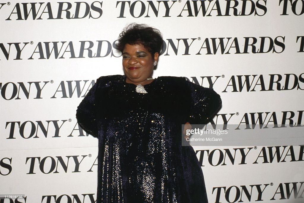 <a gi-track='captionPersonalityLinkClicked' href=/galleries/search?phrase=Nell+Carter&family=editorial&specificpeople=892544 ng-click='$event.stopPropagation()'>Nell Carter</a> (1948-2003) at the 43rd Annual Tony Awards on June 4, 1989 at the Lunt-Fontanne Theater in New York City, New York.