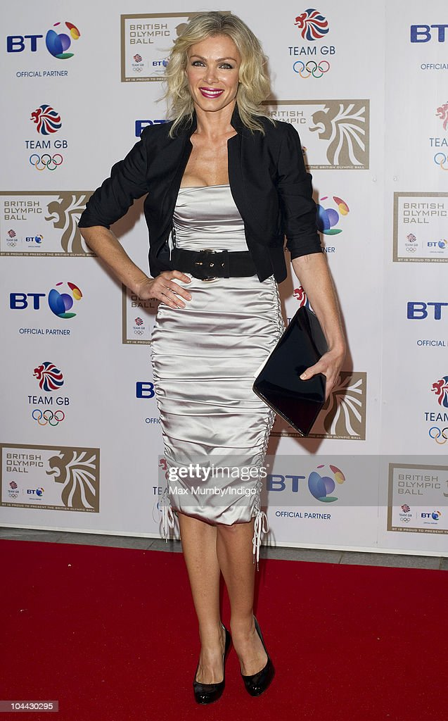 Nell McAndrew attends the British Olympic Ball at the Grosvenor House Hotel on September 24, 2010 in London, England.