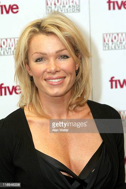 Nell McAndrew during 2005 Women in Film and Television Awards at London Hilton in London Great Britain