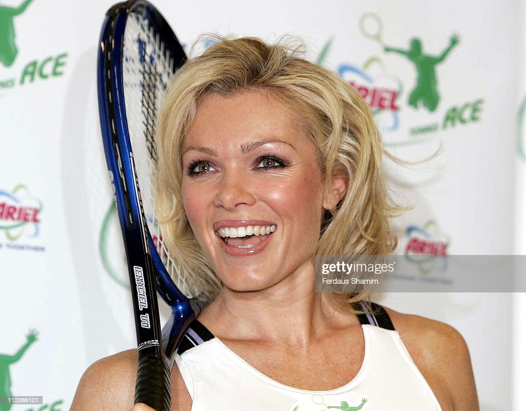Ariel Tennis Ace London Launch and Photocall