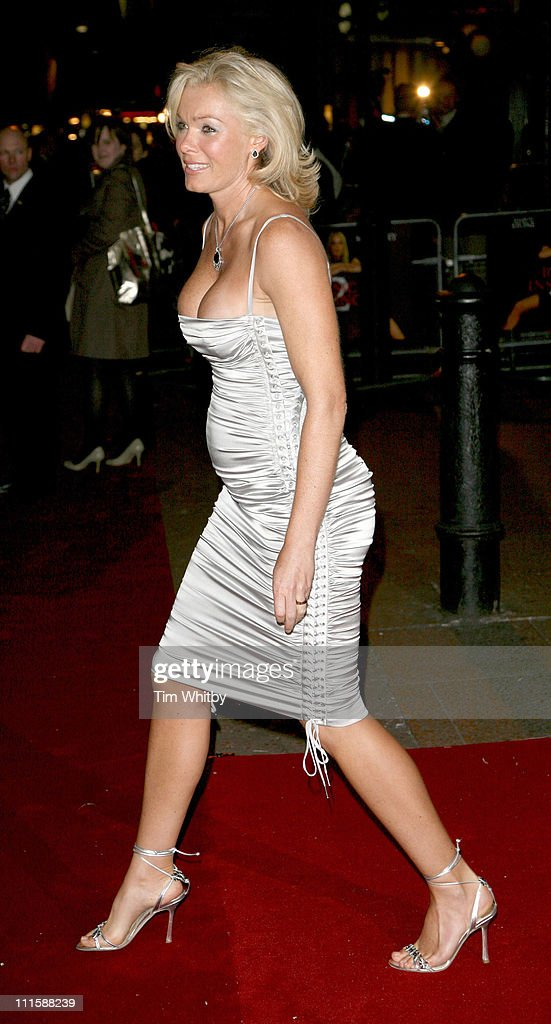 Nell McAndrew during 'Basic Instinct 2: Risk Addiction' World Premiere - Outside Arrivals at Vue Leicester Square in London, Great Britain.