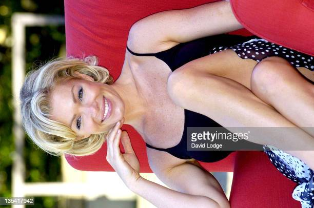 Nell McAndrew during 'I Won't Stand For It' Shelter Photocall at St Thomas's Hospital in London Great Britain